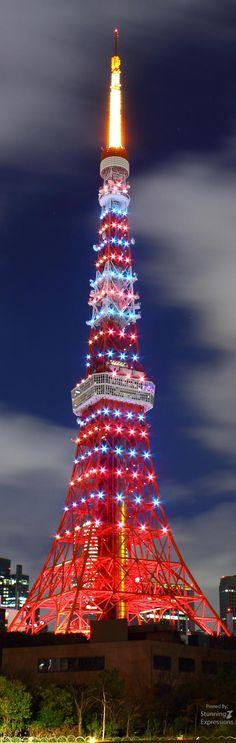 Tokyo Tower at Night   Japan