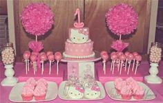 hello kitty birthday party ideas - Bing Images