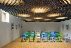 Bibliothek in Belgien / Goldene Hülle - Architektur und Architekten - News / Meldungen / Nachrichten - BauNetz.de
