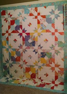 Free Spirit Fabric - Sundara Oasis - Broken Hourglass pattern