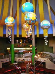 The Land Pavilion, interior, EPCOT Great food in here!!! and yeah and Soarin' too :)...My very favorite!!