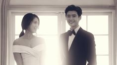 Lee Jong Suk and Park Shin Hye's Pinocchio stills look like real wedding photos