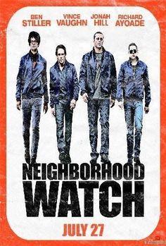 Neighborhood Watch Movie Poster Standup 4inx6in