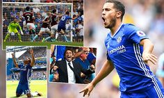 Chelsea 3-0 Burnley: Hazard, Willian and Victor Moses seal victory