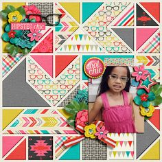 Hipster by Digilicious Design & Amber Shaw Template by Meagan's Creations