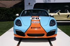 Gulf painted 981 from Pebble Beach 2012.