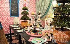 Mad Hatter Party Room at Pinkitzel Edmo