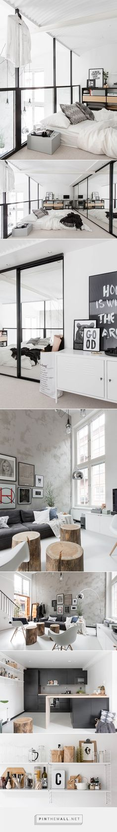 Cool scandinavian loft | My Paradissi - created via http://pinthemall.net