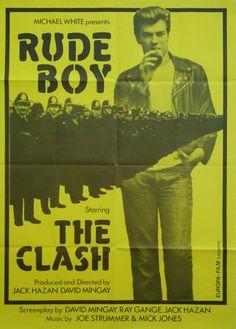 1980 Rude Boy starring The Clash yellow version by OutofCopenhagen
