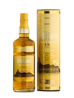 Whisky: BenRiach 16yo -  Sauternes Wood || Maturation: Approx 13 years bourbon, 3 years sauternes || Flavour: Rich, sweet, hint of sherry