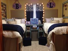 Kaylies dorm room... Crosby hall ole miss... Hotty Totty, #dormroom #OleMiss