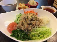 한돈 비빔쌀국수