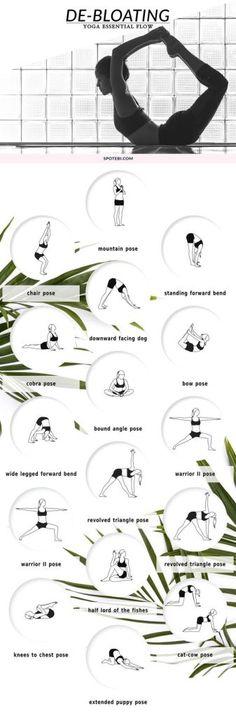 Yoga for De-Bloating.
