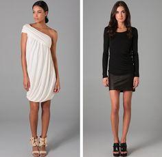 The white dress please. I love it!