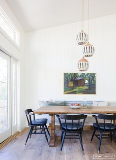 Amber Interiors Design Studio is a full-service interior design firm based in Los Angeles, California, founded by Amber Lewis. We serve clients worldwide with services ranging from interior design, interior architecture to furniture design. Dining Room Design, Dining Room Table, Dining Area, Dining Rooms, Dining Room Light Fixtures, Dining Room Lighting, Banquettes, Rooms Ideas, Amber Interiors