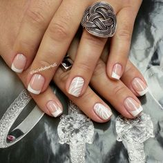 Perfect French nails