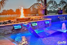 It's #FeatureFriday!   Which pool feature would you choose: fire bowls 🔥 or waterfalls 🌊?  . . . #pooldesign #pooldetails #allinthedetails #luxuryoutdoor #customspa #custompool #poolfeatures #waterfeatures #firefeatures #custompoolbuilder #luxurypools #floridapoolbuilder #floridapooldesigner #swfl #swflpools #swflpoolbuilder #aroundsarasota #sarasotapools #portcharlottepools #fortmyerspools #custompoolbuild #poolking #teamsuperior #superiorpools #superiorpoolsswfl Pool Kings, Florida Pool, Pool Contractors, Luxury Pools, Building A Pool, Custom Pools, Pool Builders, Fire Bowls, Fort Myers