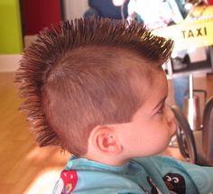 Peachy Little Boys Mohawk Hairstyles Kids Hairstyles Pinterest Boy Hairstyles For Women Draintrainus