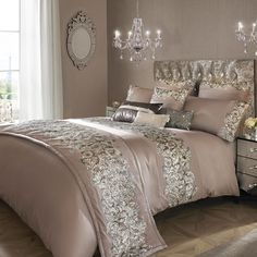 Kylie Minogue Petra Nude Bedding Collection