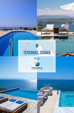 Check the lovely Villas in Tersanas village, in Crete, and enjoy your next #holidays with gorgeous #sea views! #crete #travel #villas #chania #tersanas #pool #summer #vacation #island #TheHotelgr