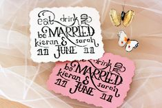 DIY Custom Save the Date Cards from Instructables