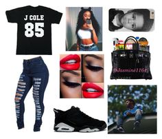 """""""J Cole"""" by jasmine1164 ❤ liked on Polyvore featuring bae and JCole"""