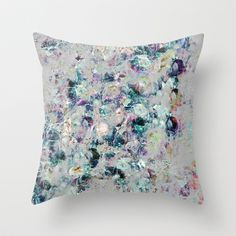 Mineral+Throw+Pillow+by+Georgiana+Paraschiv+-+$20.00
