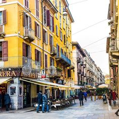 Brera District, Milan. Photo courtesy of nodestinations on Instagram.