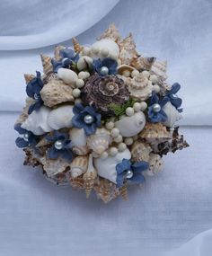 Sea Shell Bouquet By ModernSwankDesigns On Etsy 30000 Perfect