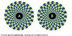 Optische illusies: hoe je brein je voor de gek houdt   Achtergrond   Neurowetenschappen   beweging, gedragswetenschappen, helderheid, oog, optische illusie, patroonherkenning, waarneming, zien, illusies, gezichtsvermogen, visueel systeem, oogzenuw, na-effect van kleur, laterale inhibitie, contrast - Kennislink