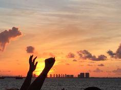 Atardecer en Cancun
