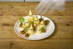 Kartoffelbrei-Gespenster - Halloween.de - Das Halloween & Horror Magazin - Halloween.de
