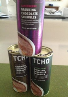 Chocolate drinking crumbles from @TCHO Chocolate #AshleyKoffApproved