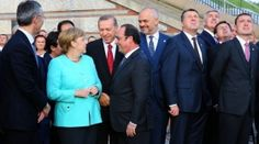 Erdoğan ile Merkel görüştü