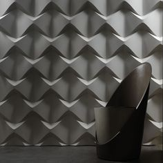 Caos - Italian brand 3D Surface have launched their inaugural collection of relief wall panels.