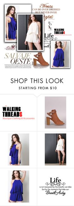 """""""The Walking Threads 13/30"""" by ado-duda ❤ liked on Polyvore featuring Qupid and thewalkingthreads"""