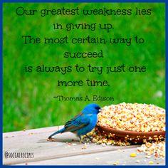 Thomas Edison #quote