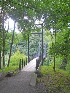Attingham Park Suspension Bridge