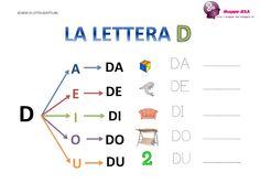 La lettera D