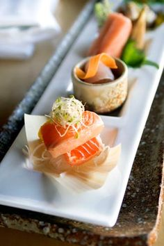I think sushi is beautiful to look at...but I won't ever touch the stuff again! =)