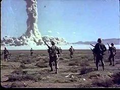 【カラー】原爆投下実験の貴重な資料映像 Atomic bomb experiment