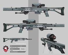 Ascend Weapon Concept and Design by Kris Thaler @ Rmory Studios