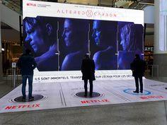 Altered Carbon dans les malls : l'humanité sous cellophane