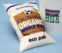 Organic milk bags PD