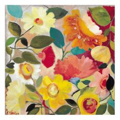 Lush Garden by Kim Parker. Giclee print from Steve Justrich's Inspiring Insider galleries on Art.com.