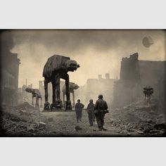 Star Wars vs. WWII soldiers...So sick! Just saw these on Facebook. #StarWars #WWII #NerdStuff