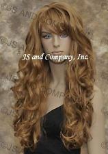 Luscious Layered EXTRA Long Wavy Strawberry Blonde wig WBBW 27