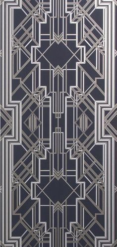 Metropolis Wallpaper Marcasite 897 (10487-897) – James Dunlop Textiles | Upholstery, Drapery & Wallpaper fabrics
