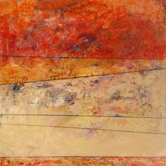 in the studio - KAREN JACOBS contemporary and abstract paintings