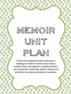 memoir graphic organizer personal memoir writing assignment pdf